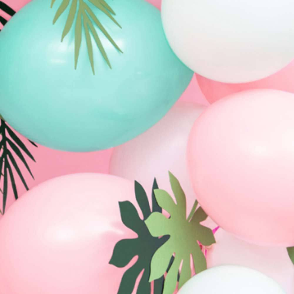 Latex Party Balloons - Pastel Pink (x10)