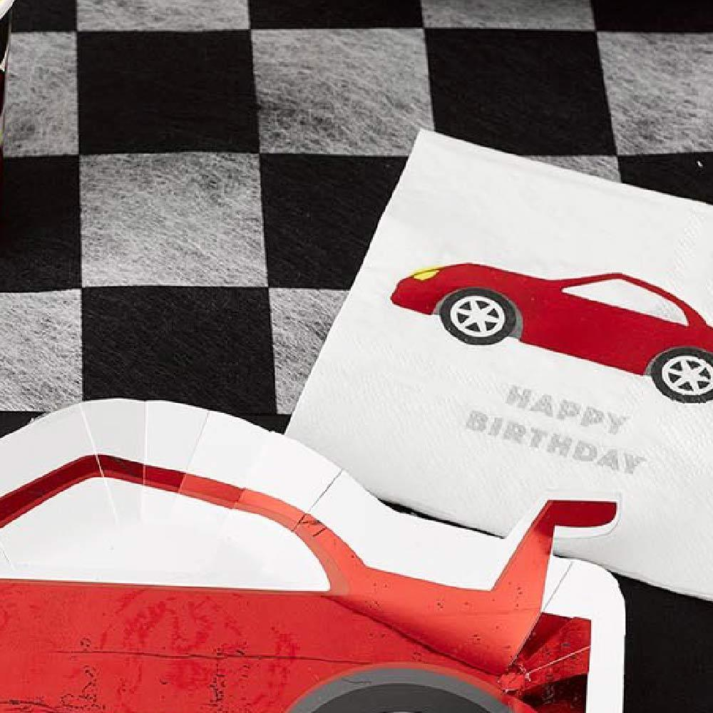 Click to view product details and reviews for Party Racer Cocktail Napkins X16.