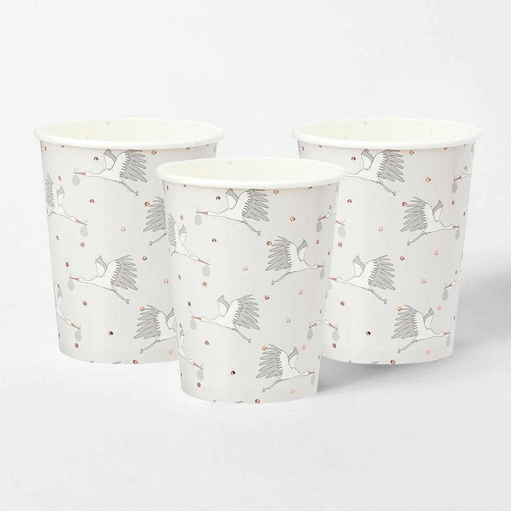 Hello Little One Paper Cups (x10)