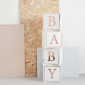 Giant Baby Blocks (x4)