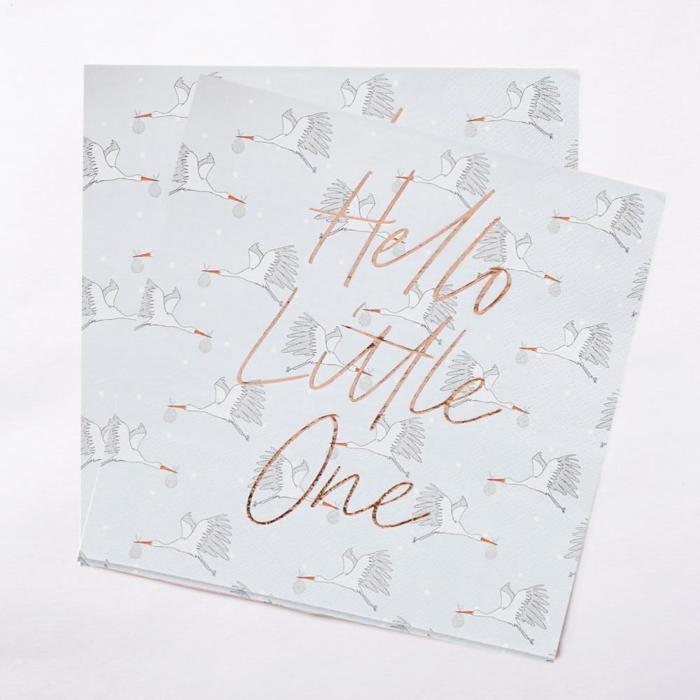 Hello Little One Napkins (x20)
