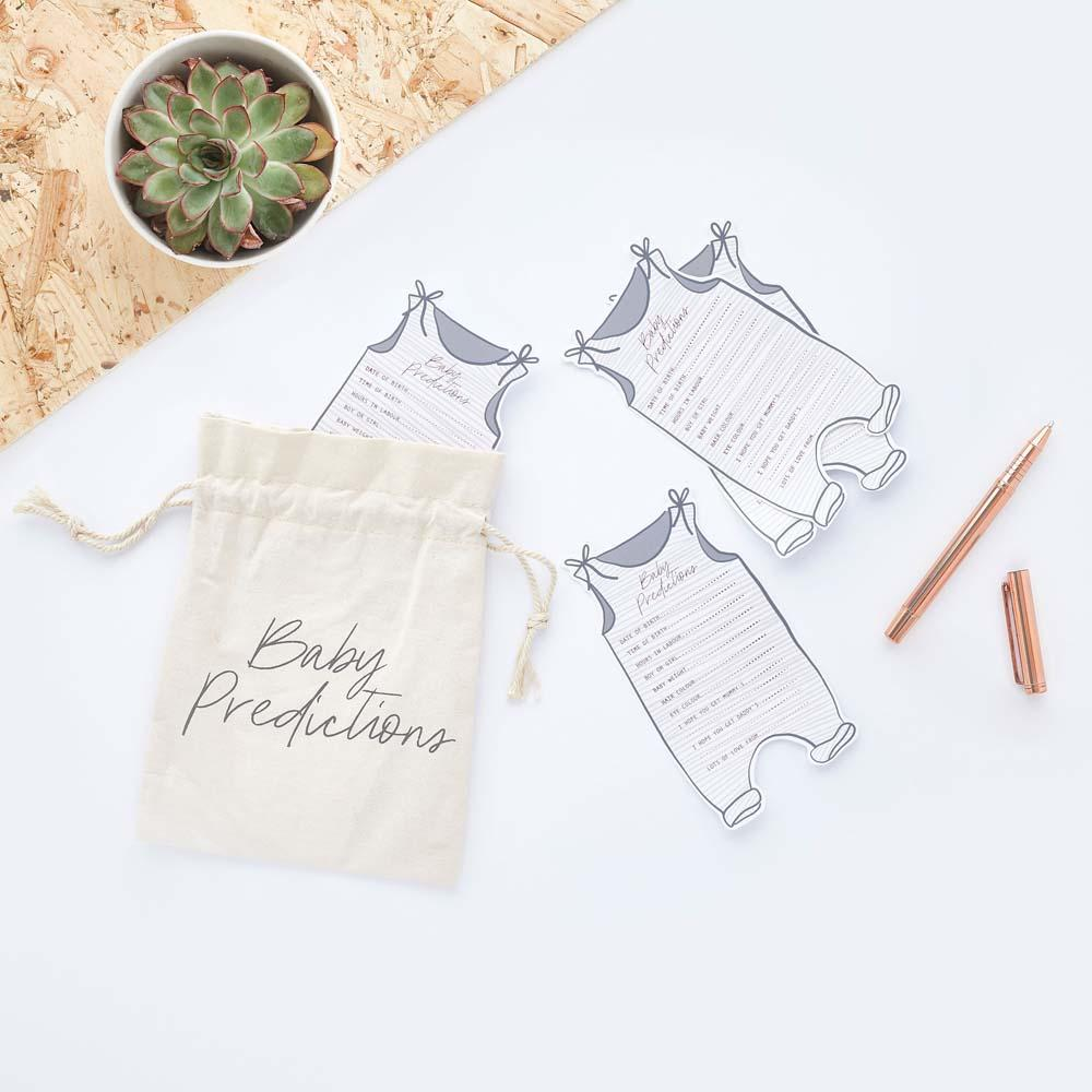 Click to view product details and reviews for Hello Little One Prediction Cards And Canvas Bag.