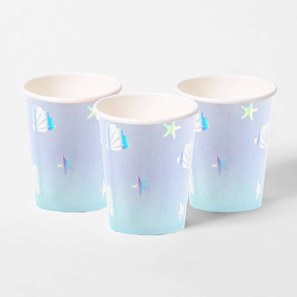 Narwhal Paper Party Cups (x6)