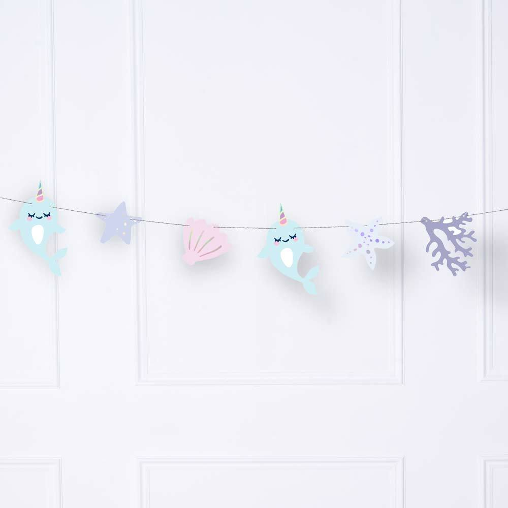 Narwhal Party Garland (1m)