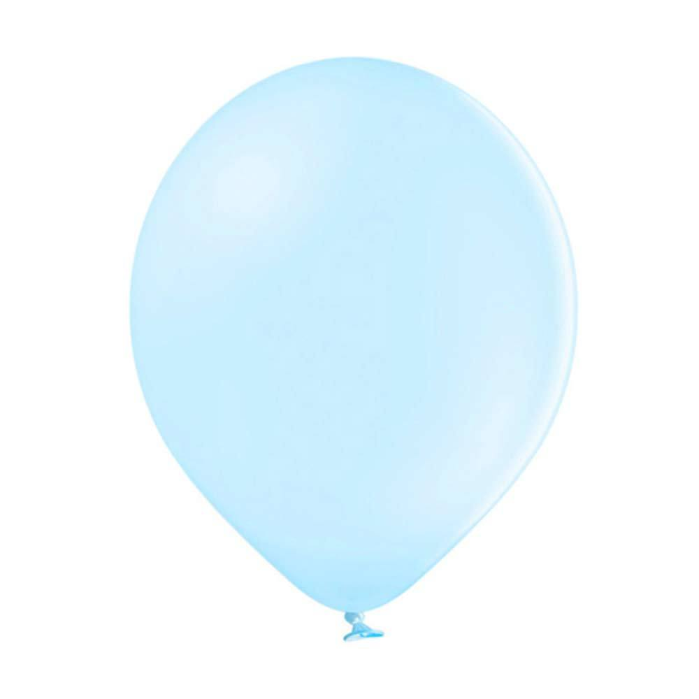 Pastel Latex Balloons - Light Blue (x10)