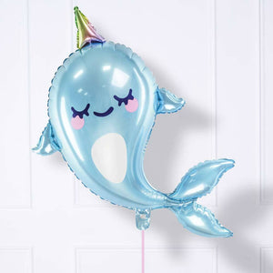 Narwhal Party Foil Balloon