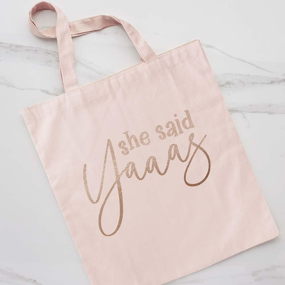 She Said Yaaas Tote Bag