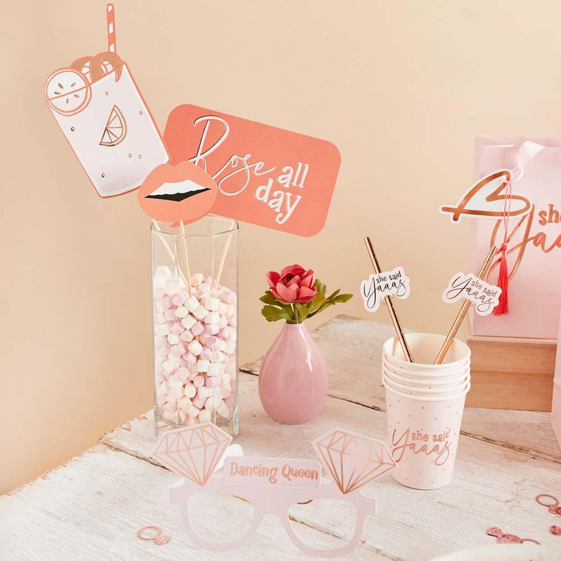 Hen Party Photo Booth Props (x10)