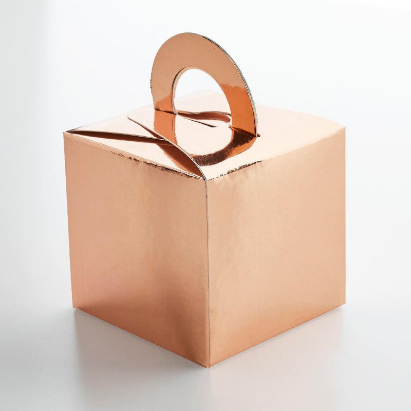 Rose Gold Balloon Weight Boxes (x5)