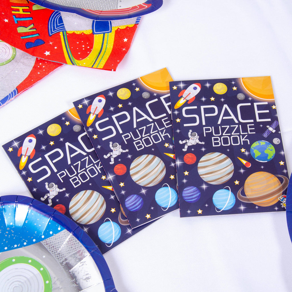 Space Puzzle Books (x6)