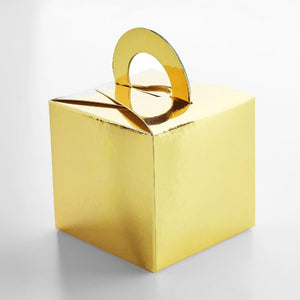 Gold Balloon Weight Boxes (x5)