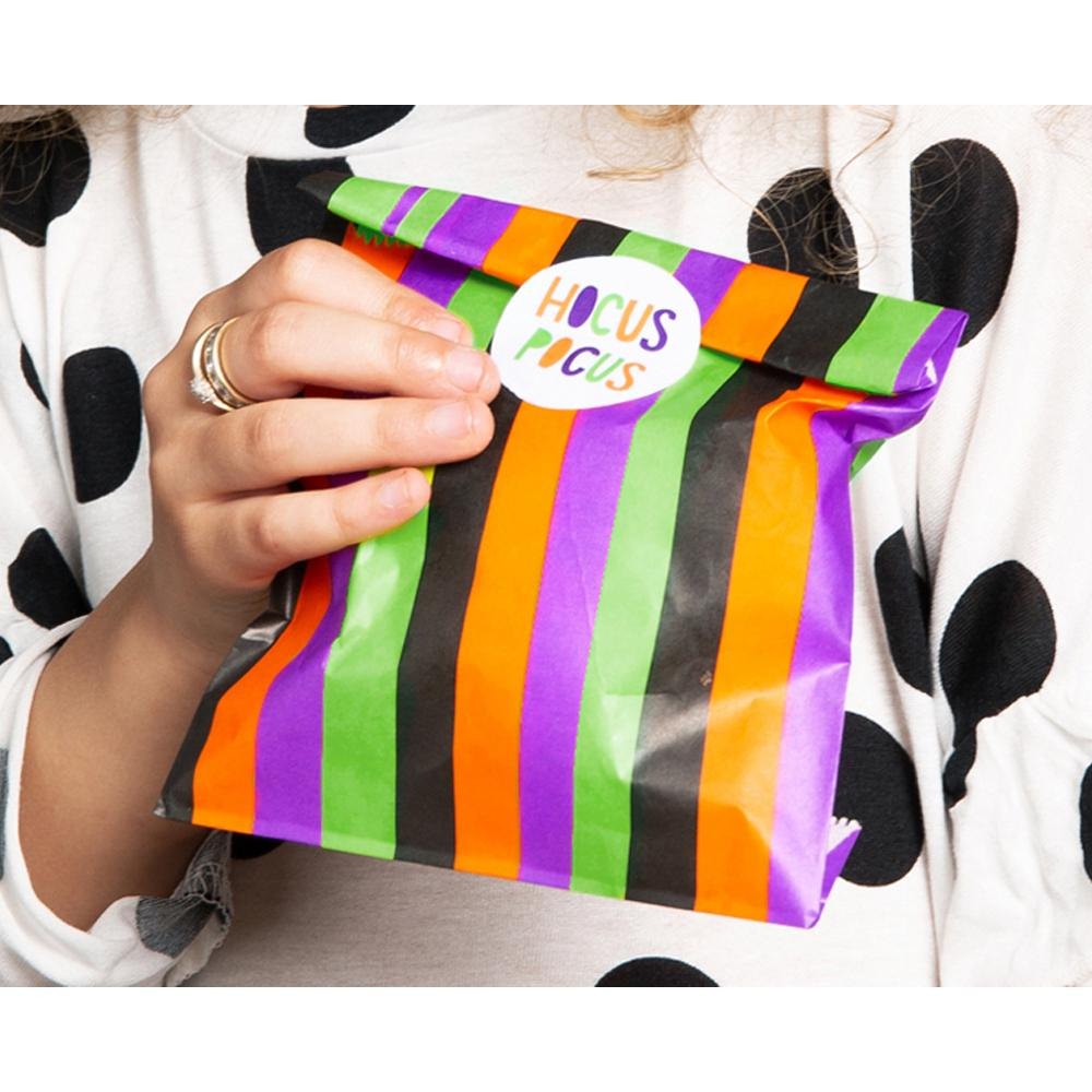 Hocus Pocus Halloween Treat Bags (x6)