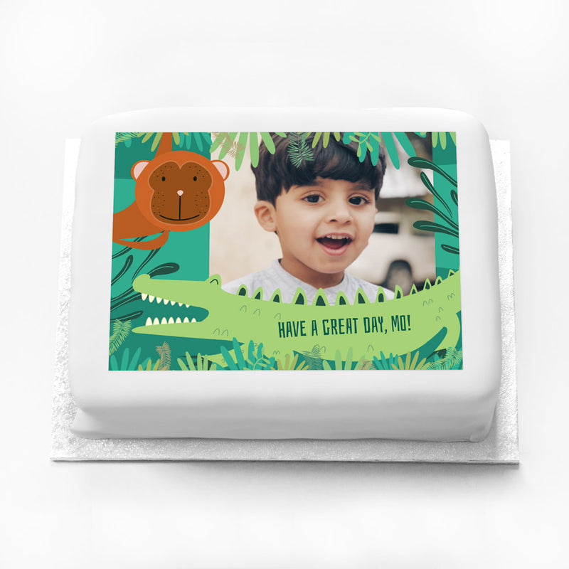 Personalised Photo Cake - Snappy Birthday