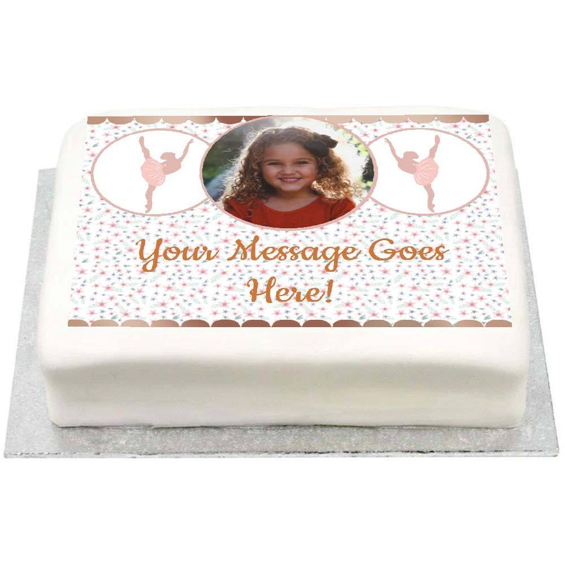 Personalised Photo Cake - Ballet
