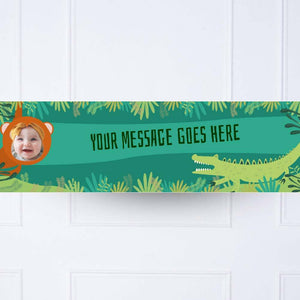 Snappy Birthday 1st Birthday Personalised Party Banner