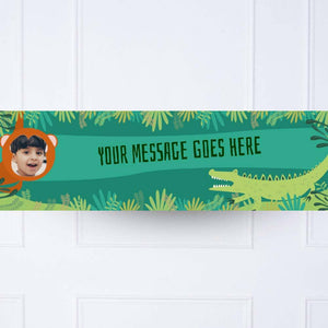 Snappy Birthday Personalised Party Banner