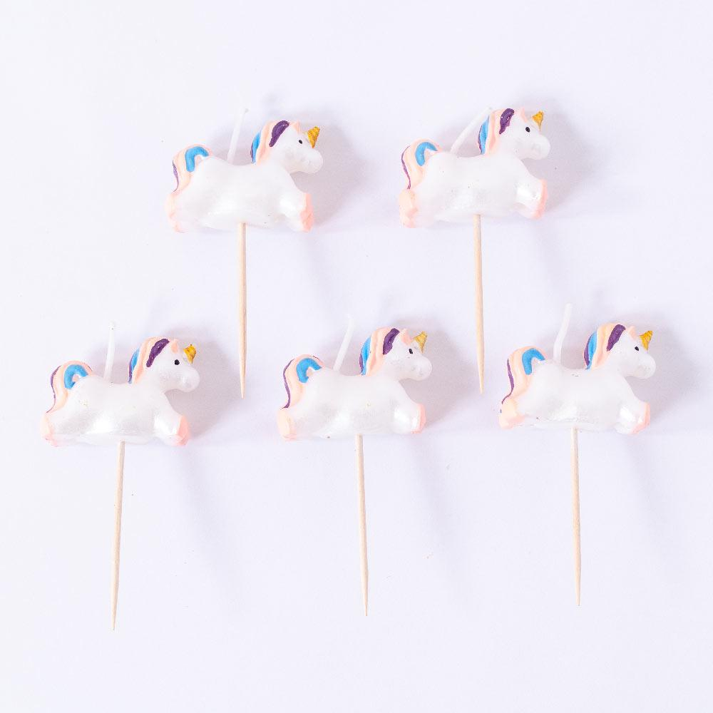 Unicorn Candle Set