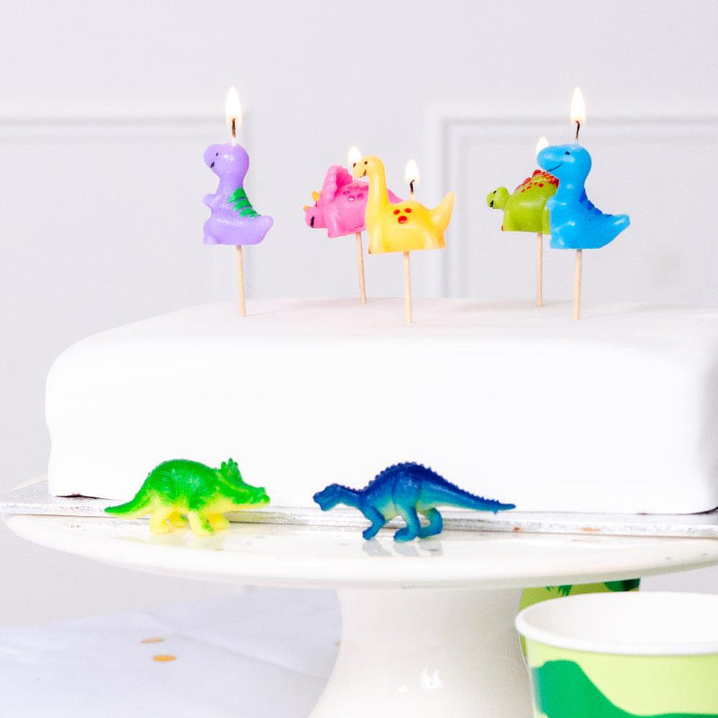 Dinosaur Candle set