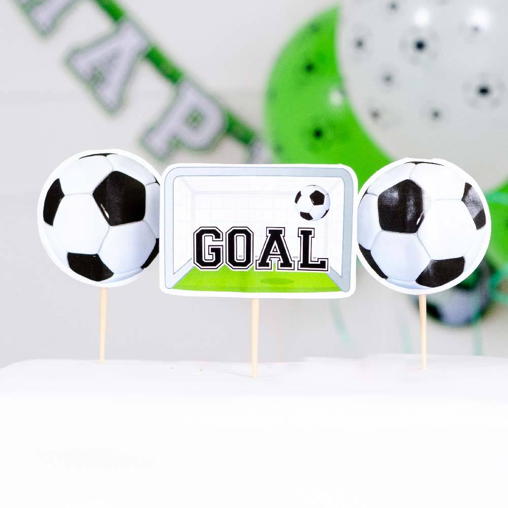Football Cake Toppers (x6)