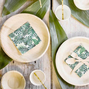 Eco-Friendly Palm Leaf Plates (x6)