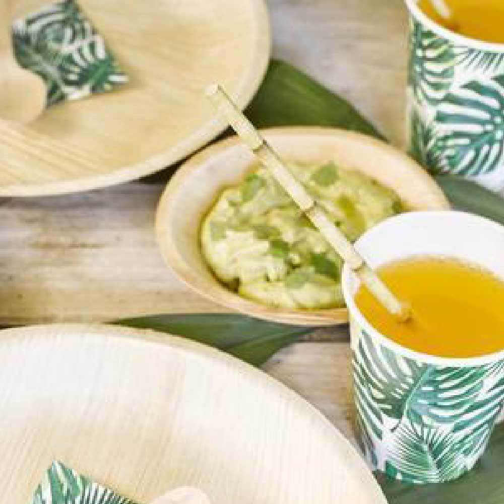 Click to view product details and reviews for Tropical Fiesta Bamboo Paper Straws X30.