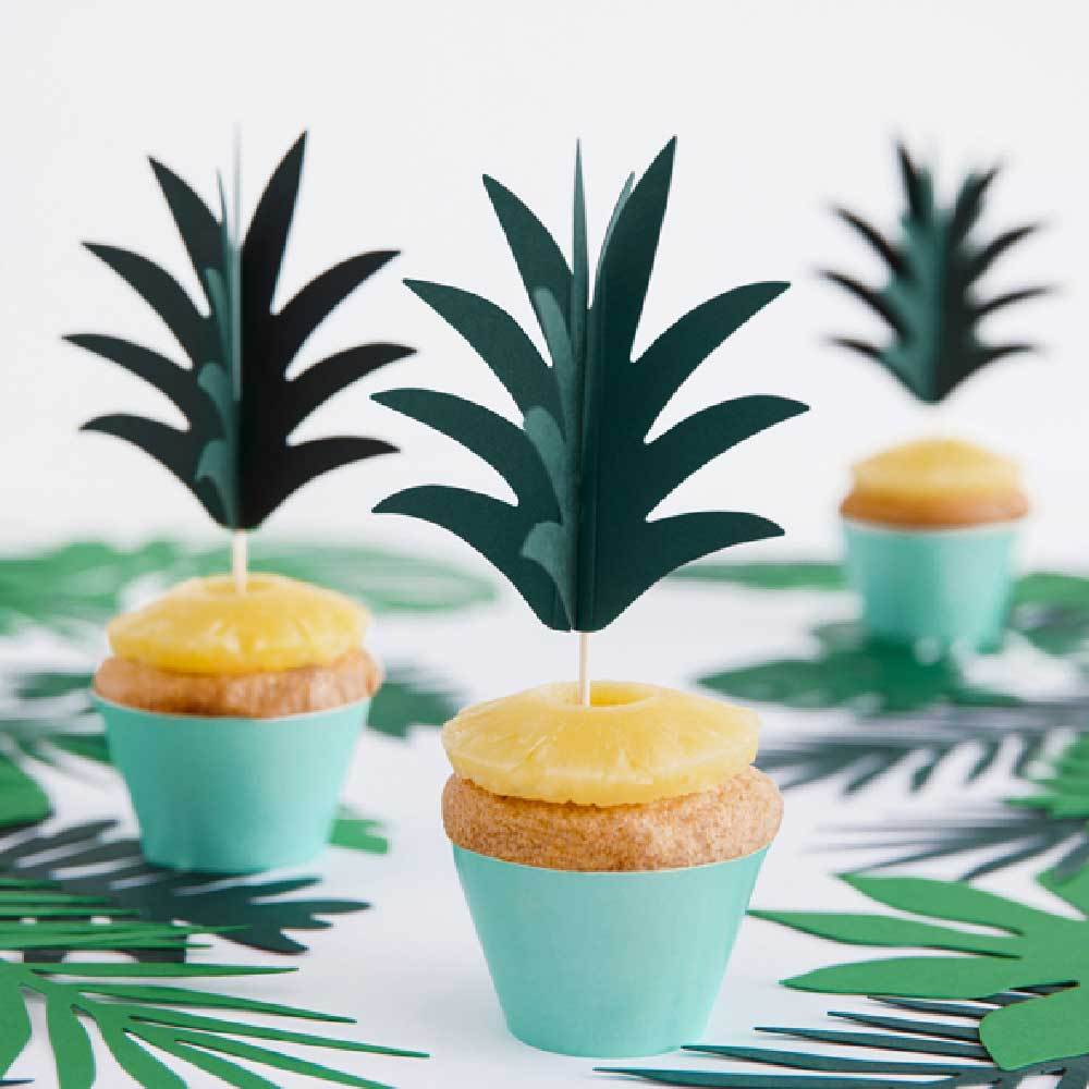 Palm Leaf Cake Toppers (x6)