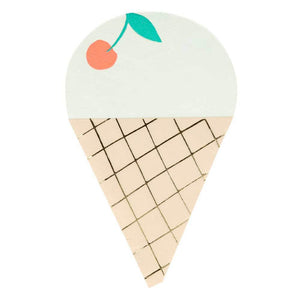 Ice Cream Napkins (x16)