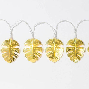 Gold Leaf String Lights