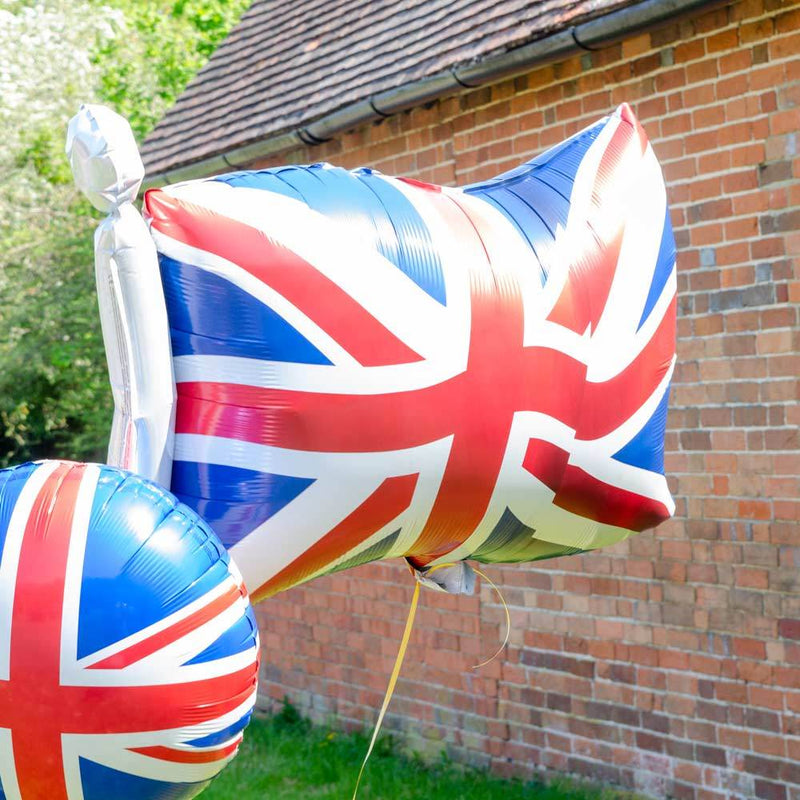 Great Britain Flag Supershape Foil Balloon