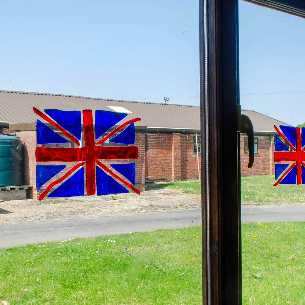 Great Britain Window Gel Clings