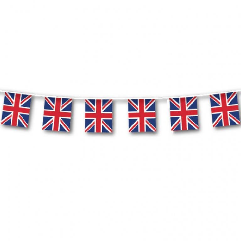 Great Britain Plastic Bunting - 40m
