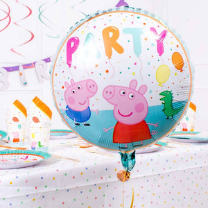 Peppa Pig Rainbow Foil Balloon