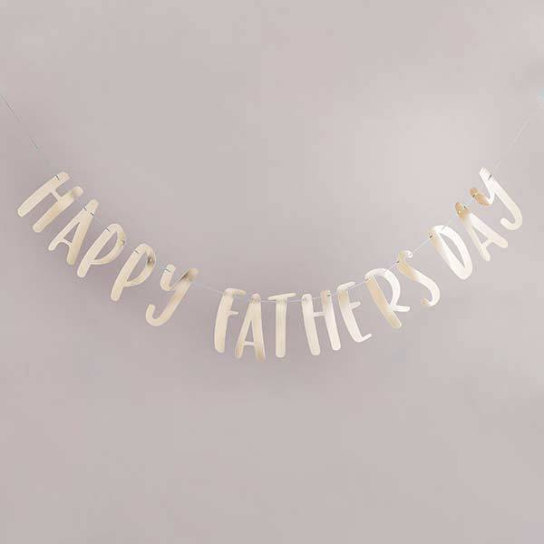 Happy Father's Day Letter Banner