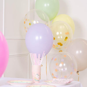 Confetti Balloon Bouquet - Pastel