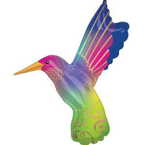 Hummingbird Supershape Foil Balloon