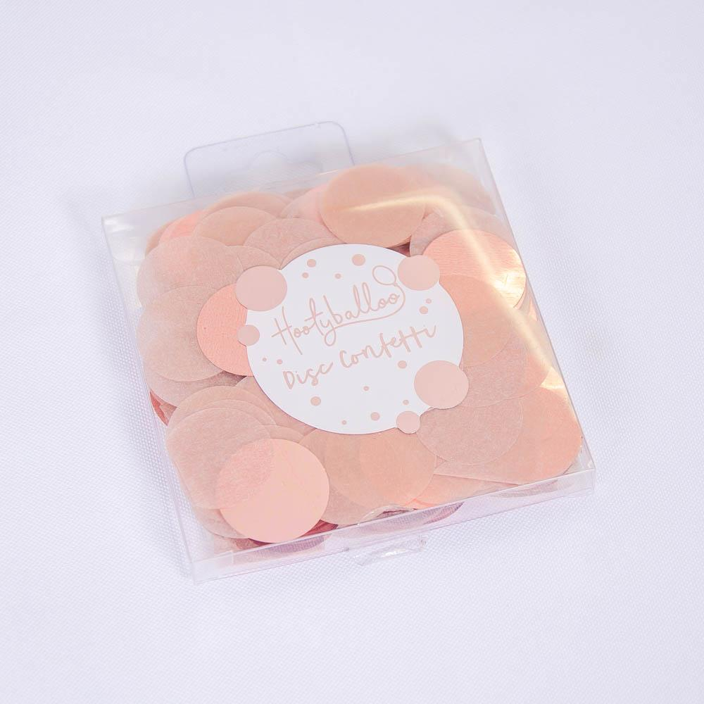 Rose Gold Disc Confetti 15g