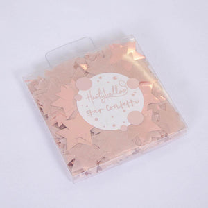Rose Gold Star Confetti 15g