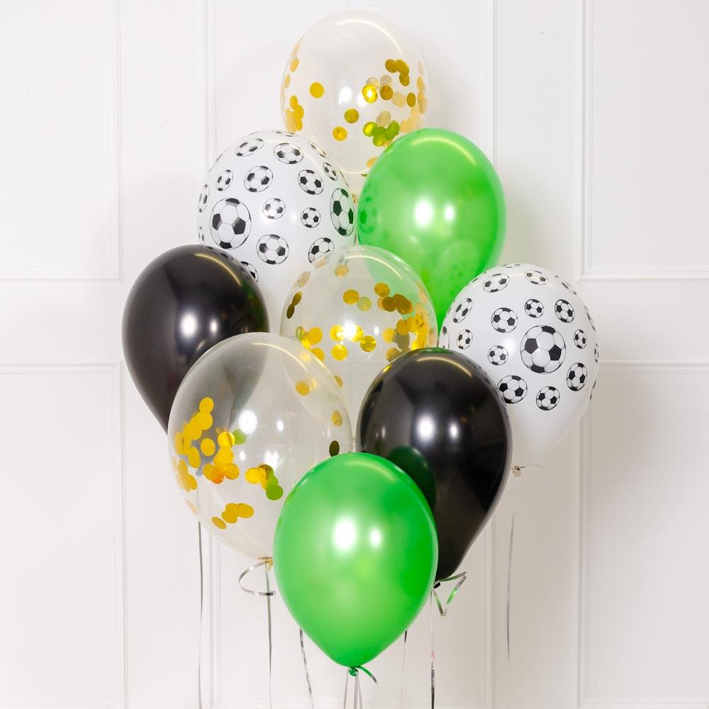 Confetti Balloon Bouquet - Football