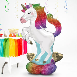 AirLoonz Standing Unicorn Balloon