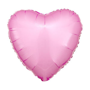 Heart Foil Balloon - Metallic Pastel Pink