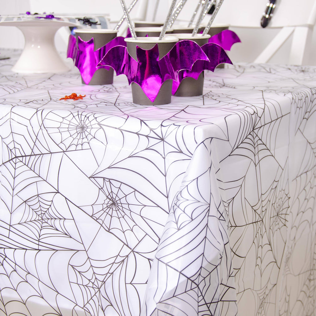 Clear Spider Web Table Cover
