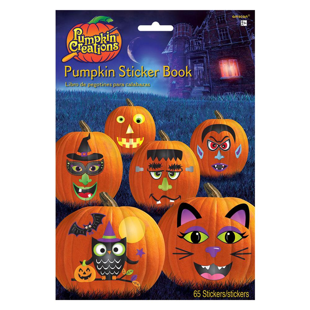 Pumpkin Stickers Book (x65 stickers)