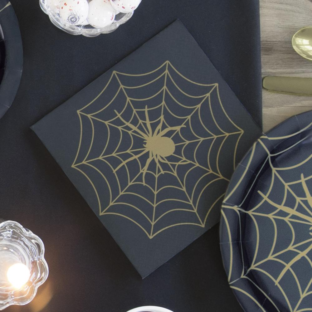 Frightfully Fabulous Halloween Napkins (x16)