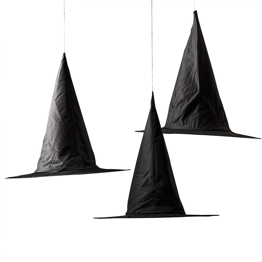Hanging Witches Hats (x3)