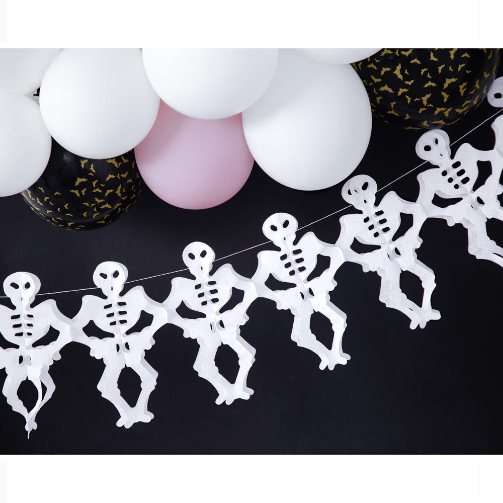 Skeleton Tissue Garland (3m)