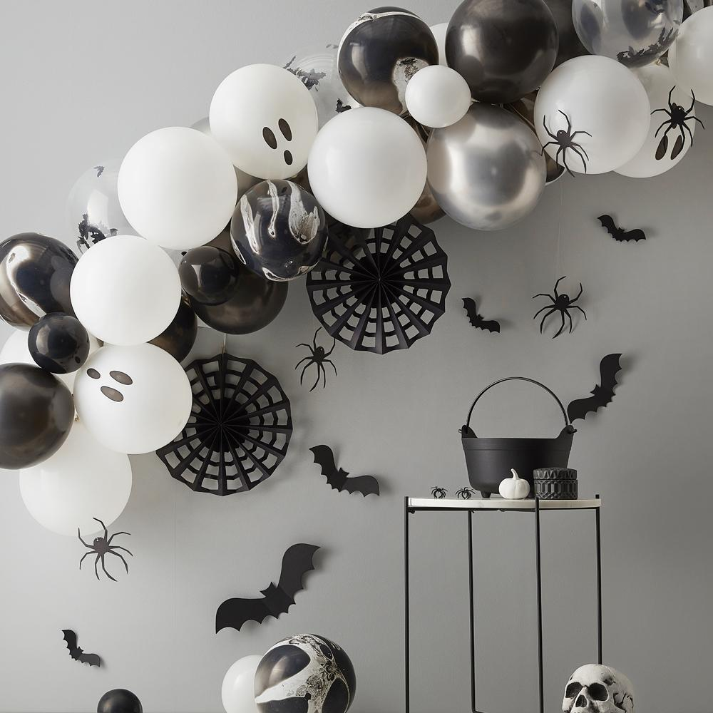 Chrome Halloween Balloon Garland (x40)