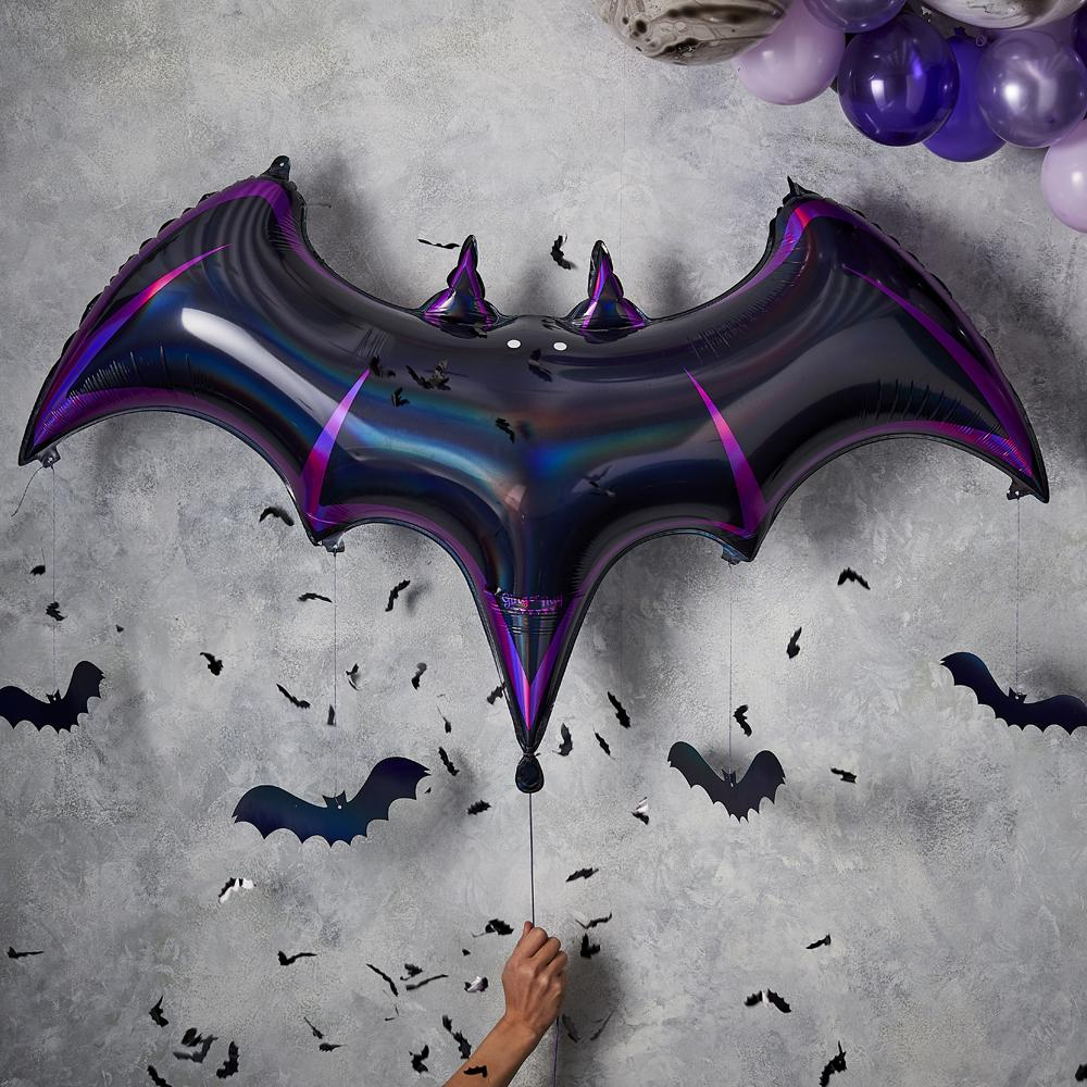 Halloween Foil Bat Balloon