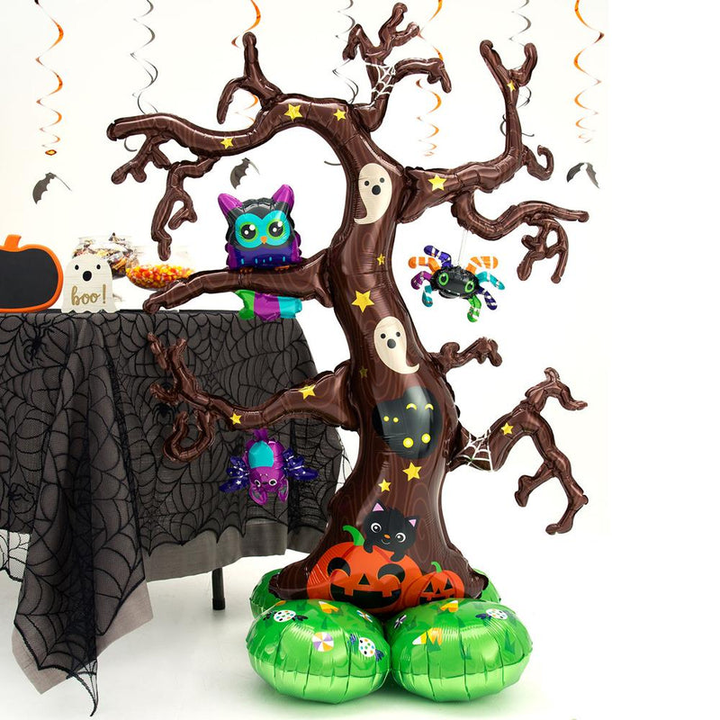 AirLoonz Creepy Tree Standing Halloween Balloon