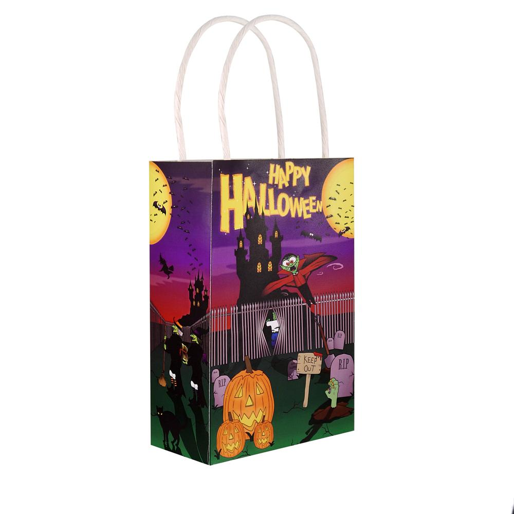 Halloween Party Bag with Handles (x6)