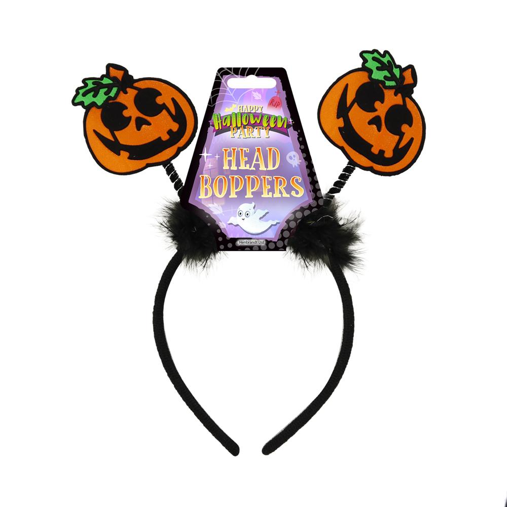 Halloween Costume Head Boppers - Pumpkins
